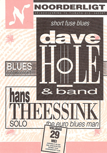 Dave Hole & Band / Hans Theessink solo - 29 mei 1992