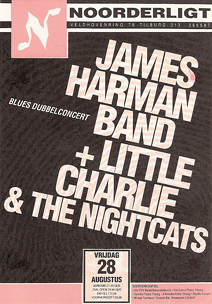 James Harman Band / Little Charlie & the Nightcats - 28 aug. 1992