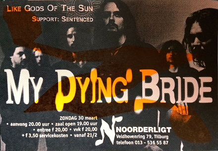My Dying Bride - 30 mrt. 1997