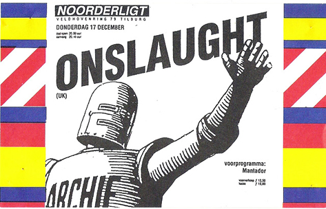 Onslaught - 17 dec. 1987